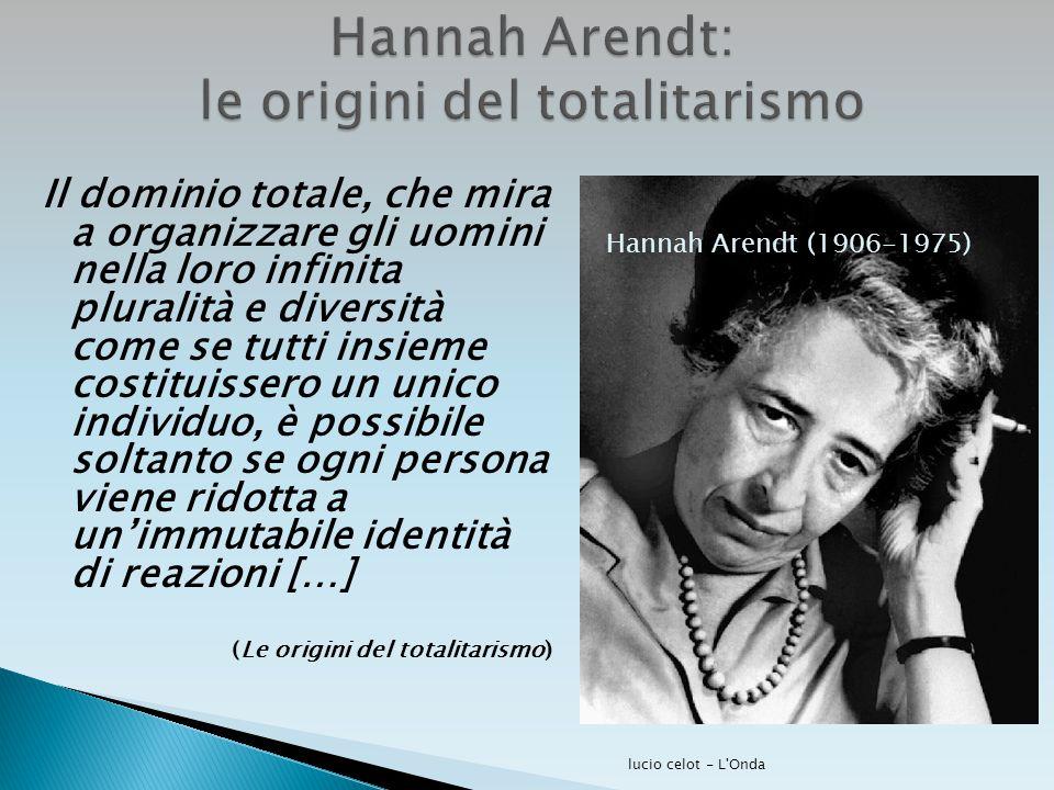 Hannah Arendt: le origini del totalitarismo