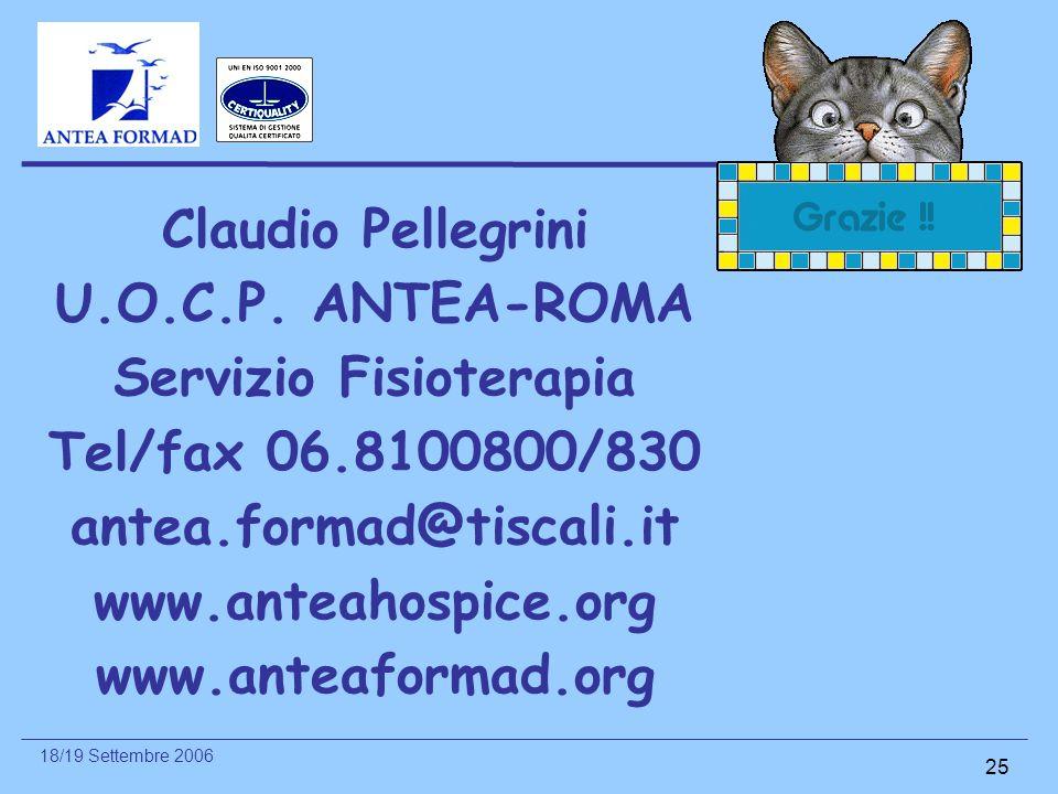 Claudio Pellegrini U. O. C. P