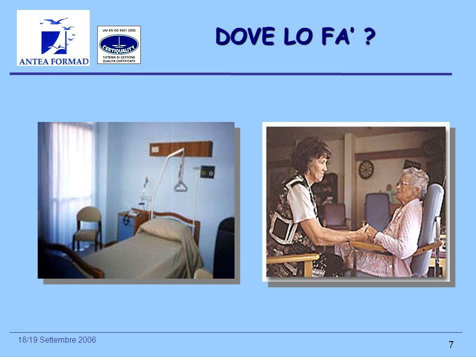DOVE LO FA'