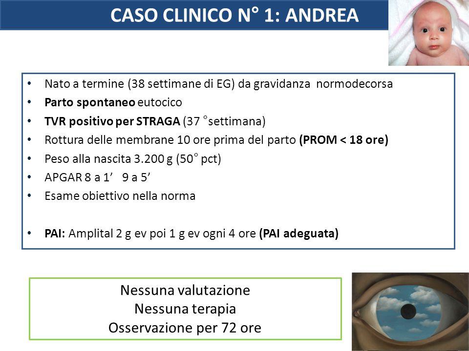 CASO CLINICO N° 1: ANDREA