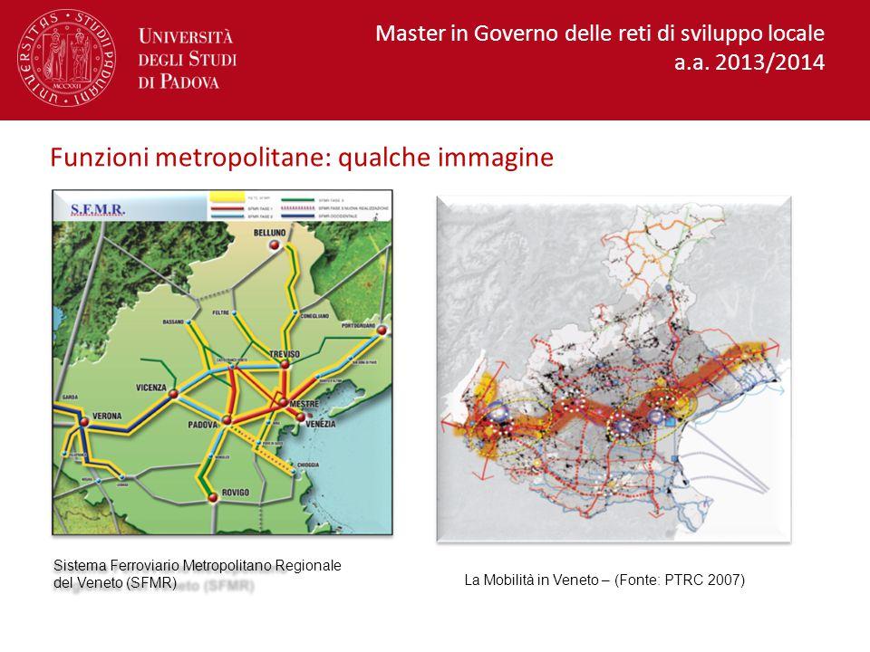 La Mobilità in Veneto – (Fonte: PTRC 2007)