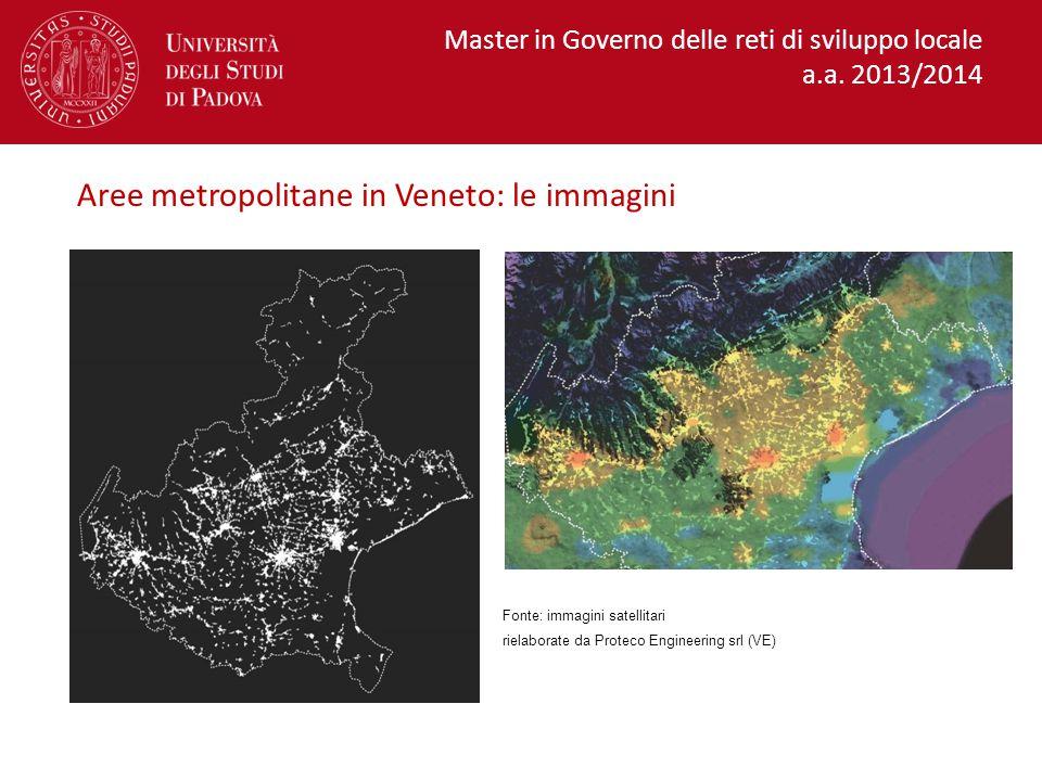 Aree metropolitane in Veneto: le immagini
