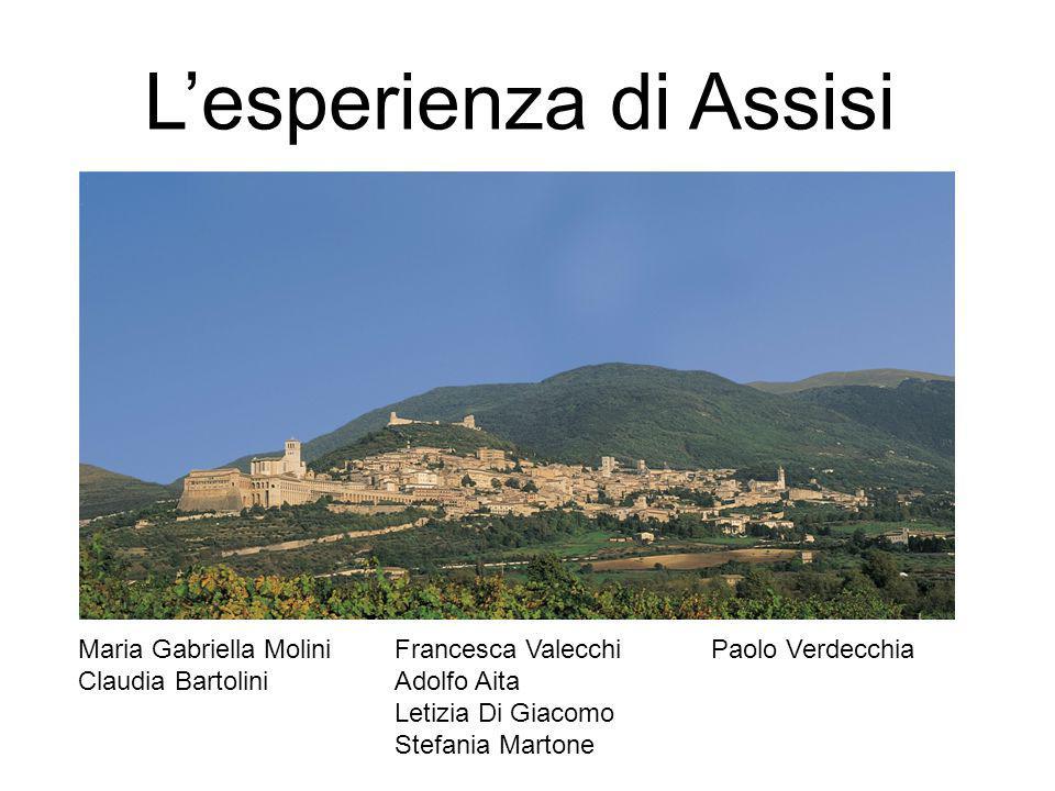 L'esperienza di Assisi