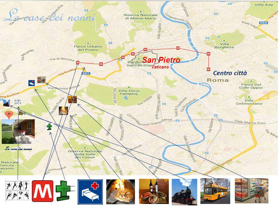 Le case dei nonni San Pietro Vaticano Centro città Le case dei nonni