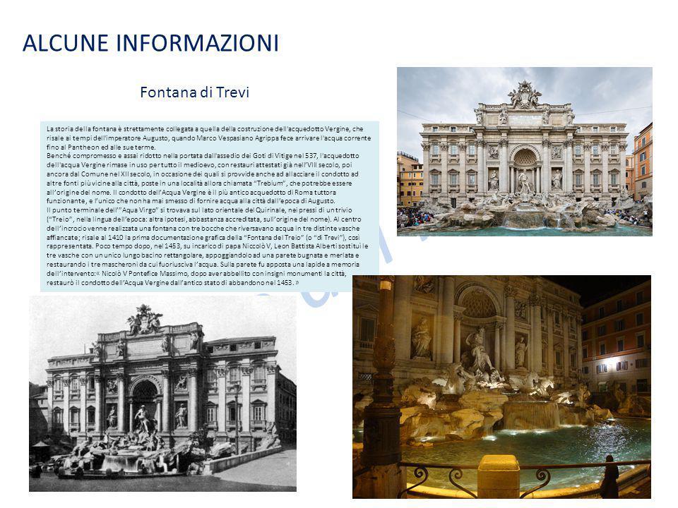 Le case dei nonni ALCUNE INFORMAZIONI Fontana di Trevi