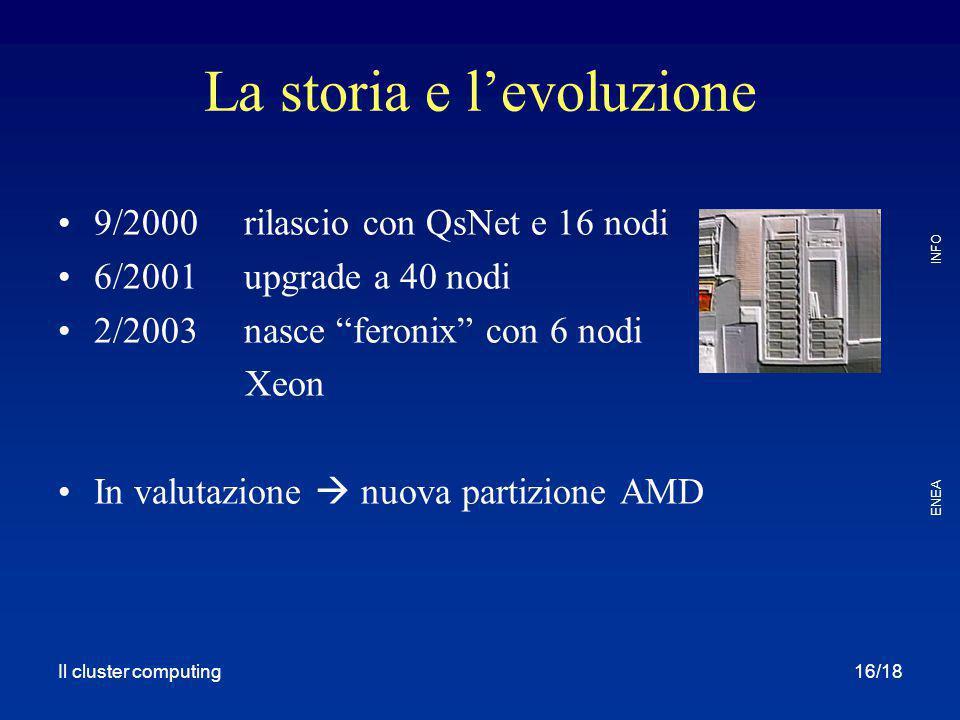 La storia e l'evoluzione