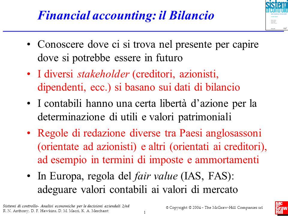 Financial accounting: il Bilancio