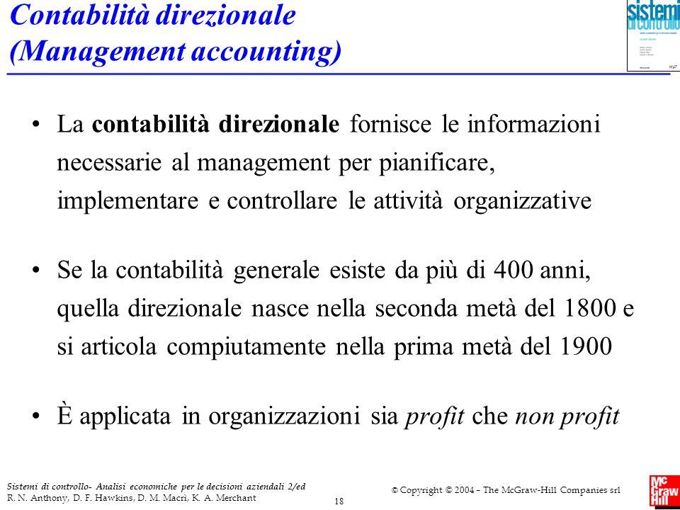 Contabilità direzionale (Management accounting)