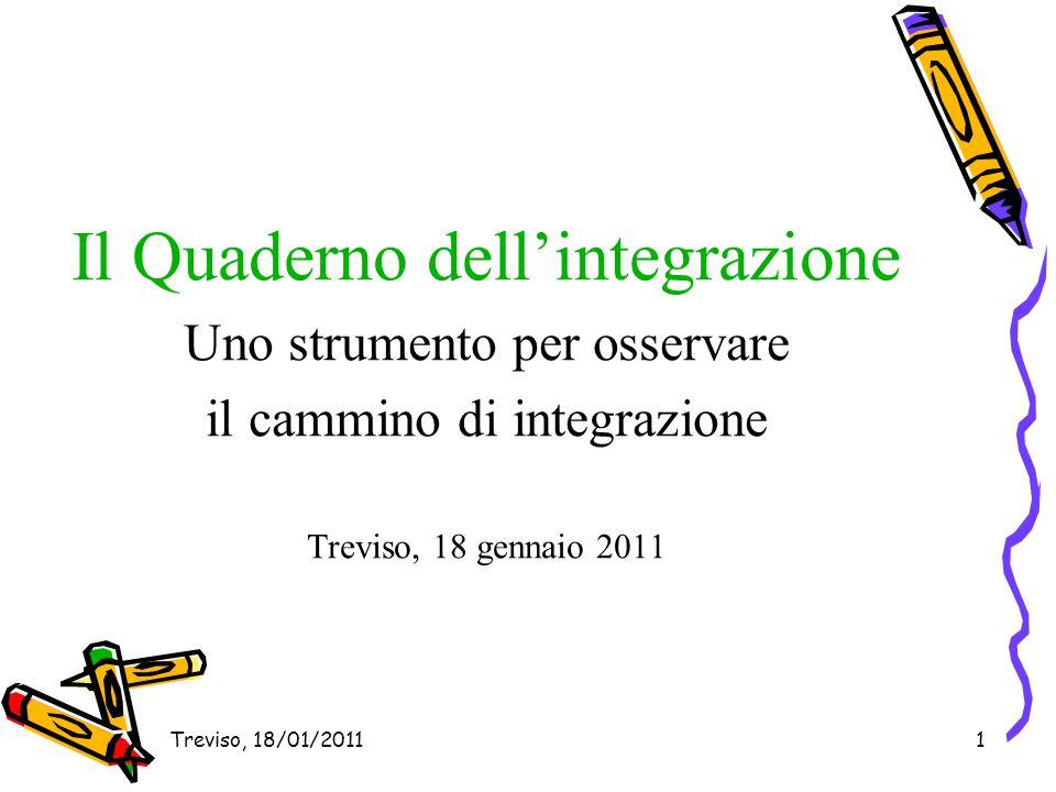 Il Quaderno dell'integrazione