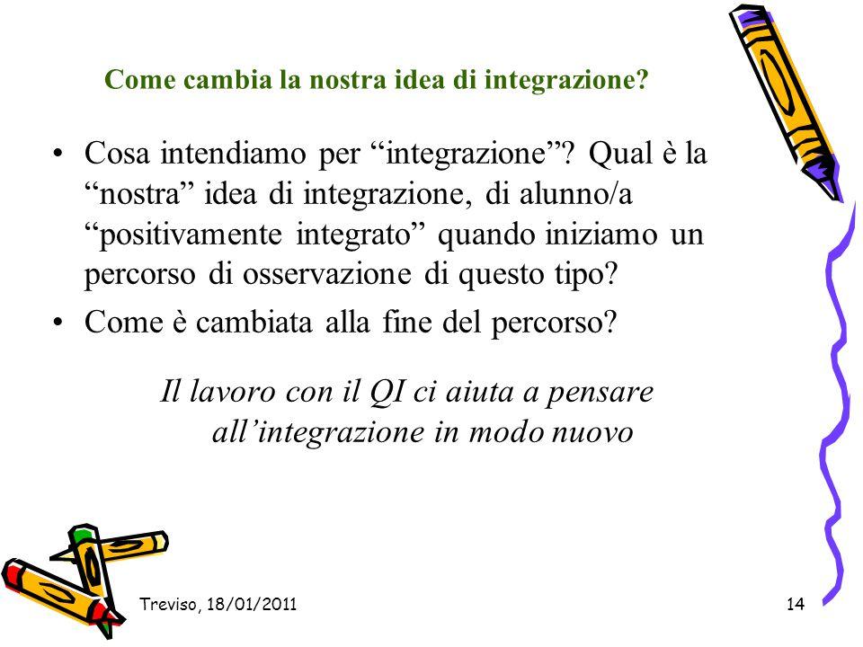Come cambia la nostra idea di integrazione
