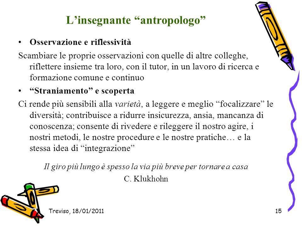 L'insegnante antropologo