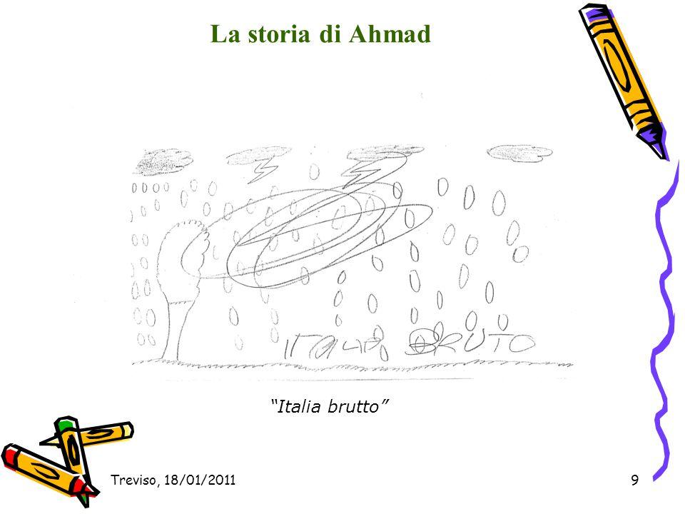 La storia di Ahmad Italia brutto Treviso, 18/01/2011
