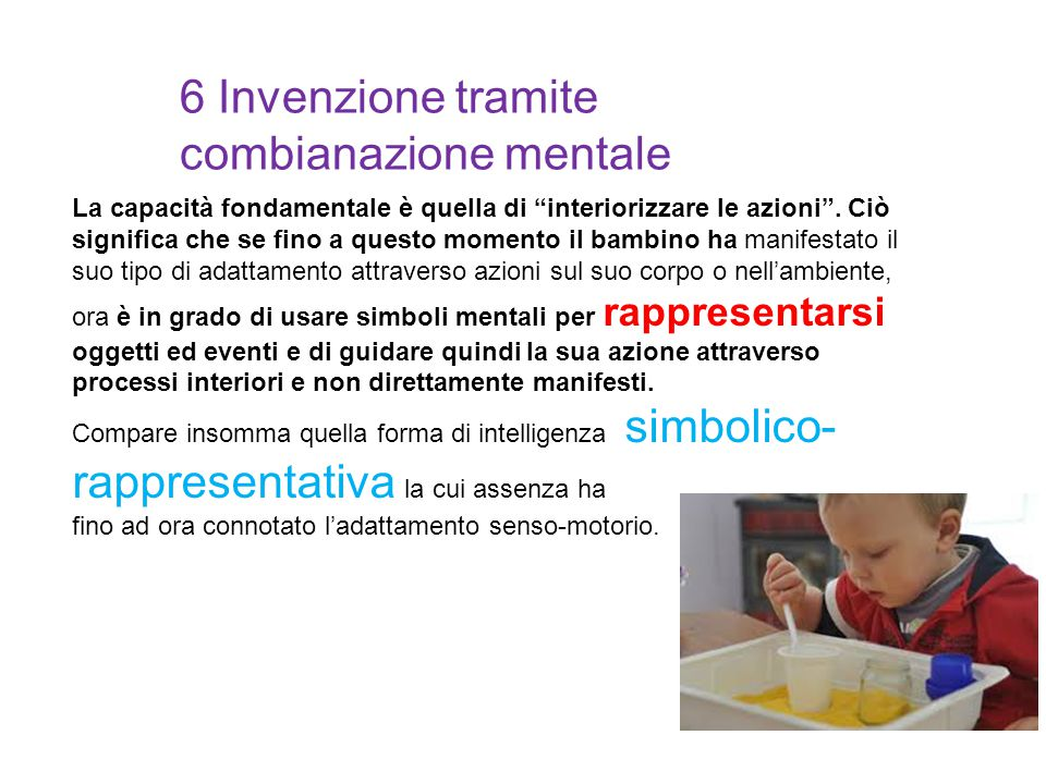 6 Invenzione tramite combianazione mentale
