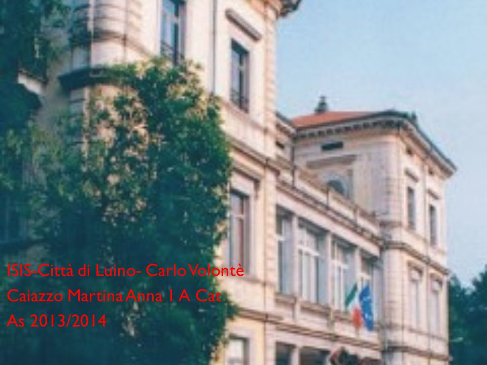 ISIS-Città di Luino- Carlo Volontè