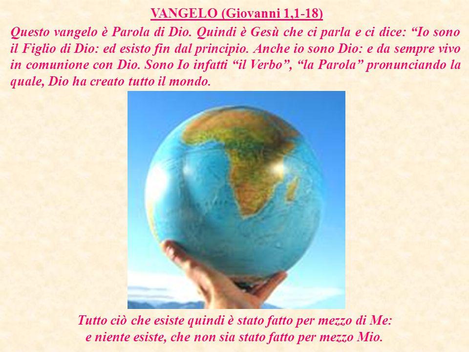 VANGELO (Giovanni 1,1-18)