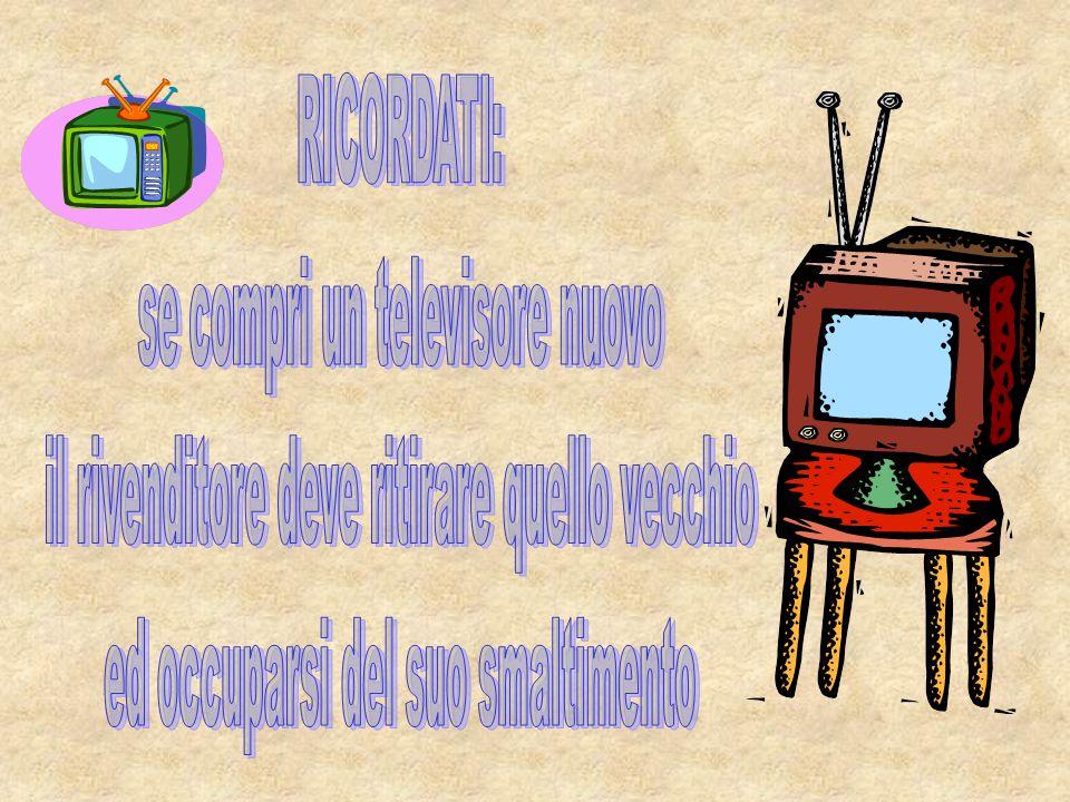 se compri un televisore nuovo