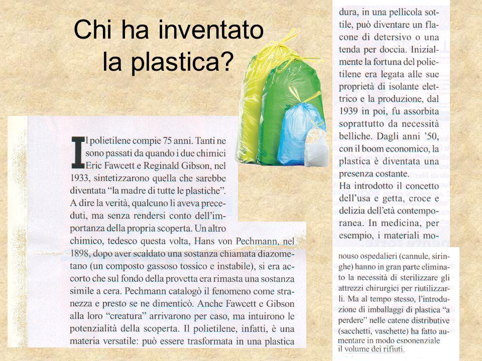 Chi ha inventato la plastica