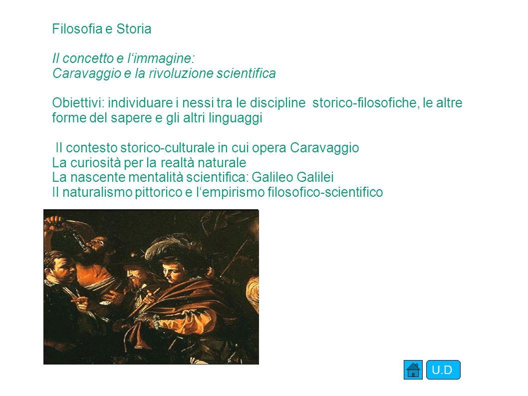 Il concetto e l'immagine: Caravaggio e la rivoluzione scientifica