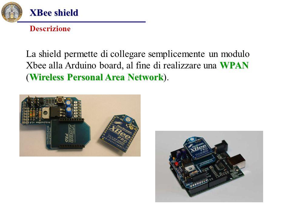 XBee shield Descrizione.