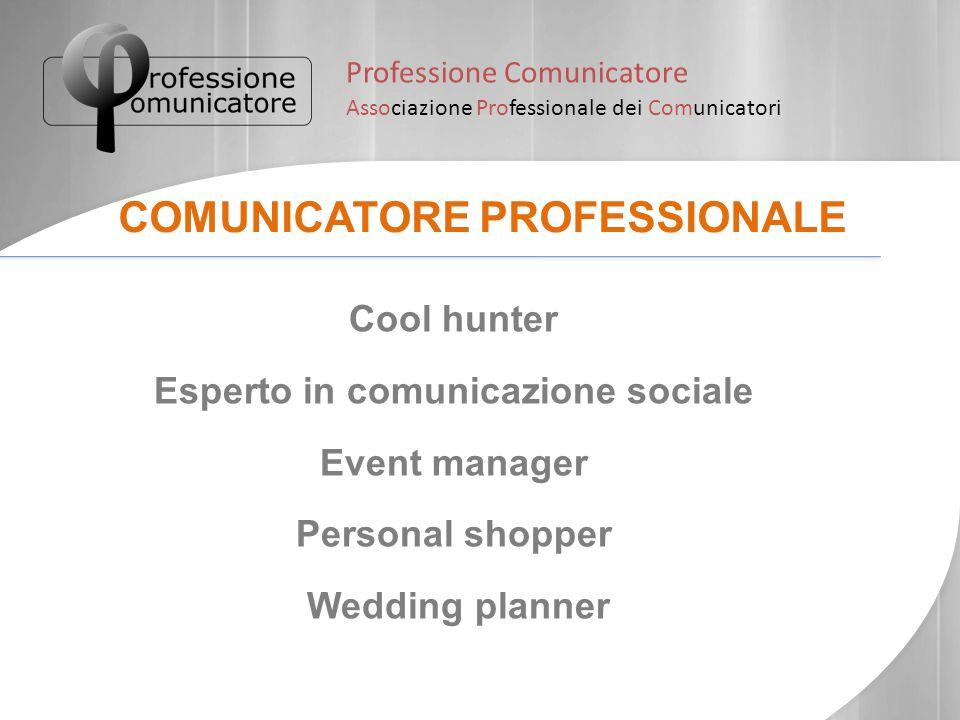 Esperto in comunicazione sociale