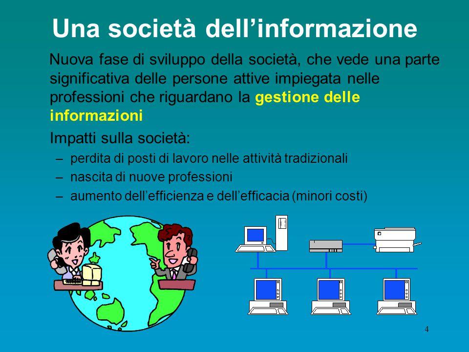 Una società dell'informazione