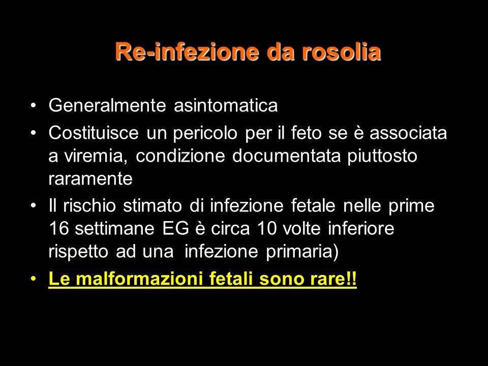 Re-infezione da rosolia