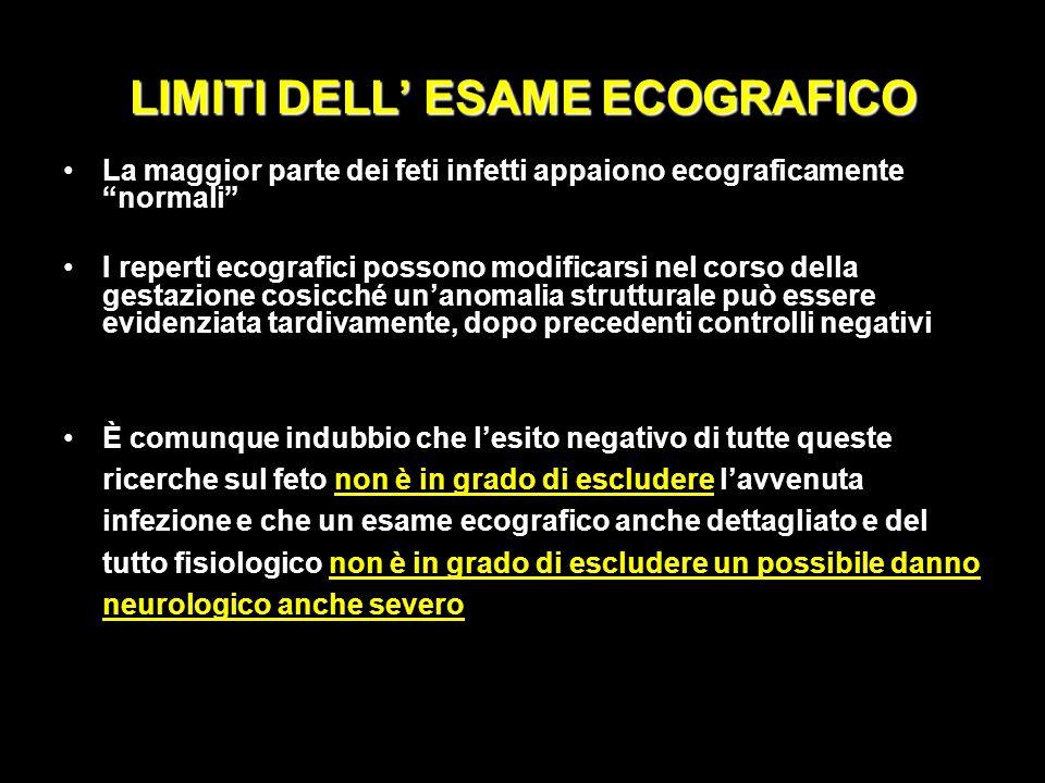 LIMITI DELL' ESAME ECOGRAFICO