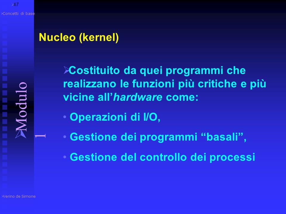 Modulo 1 Nucleo (kernel)