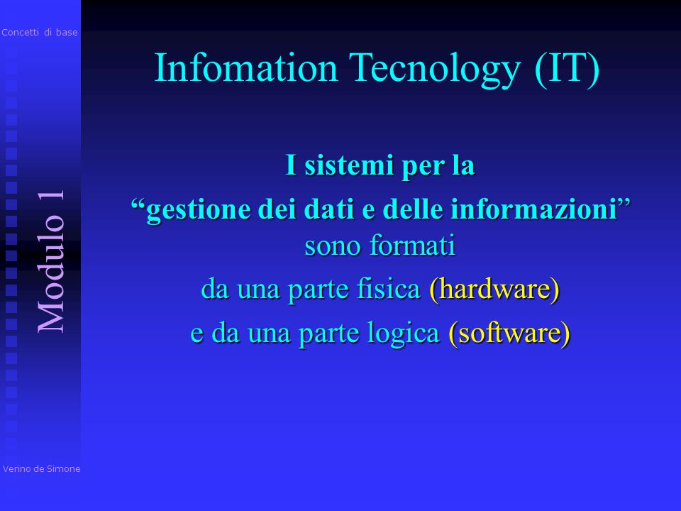 Infomation Tecnology (IT)