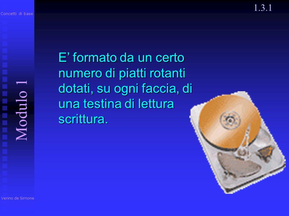 1.3.1 Verino de Simone. Modulo 1. Concetti di base.