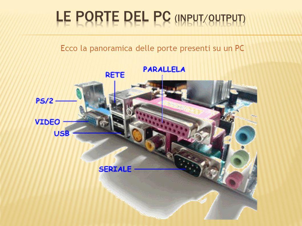 Le porte del PC (Input/Output)