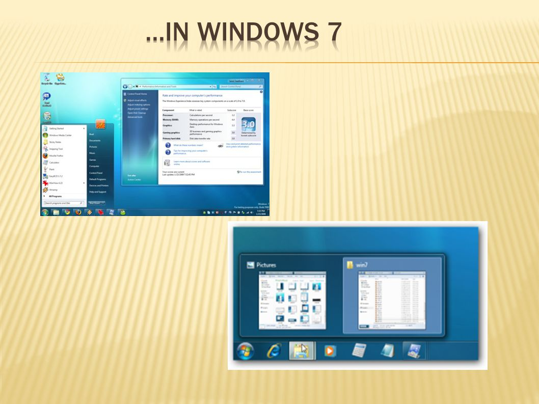 …in windows 7