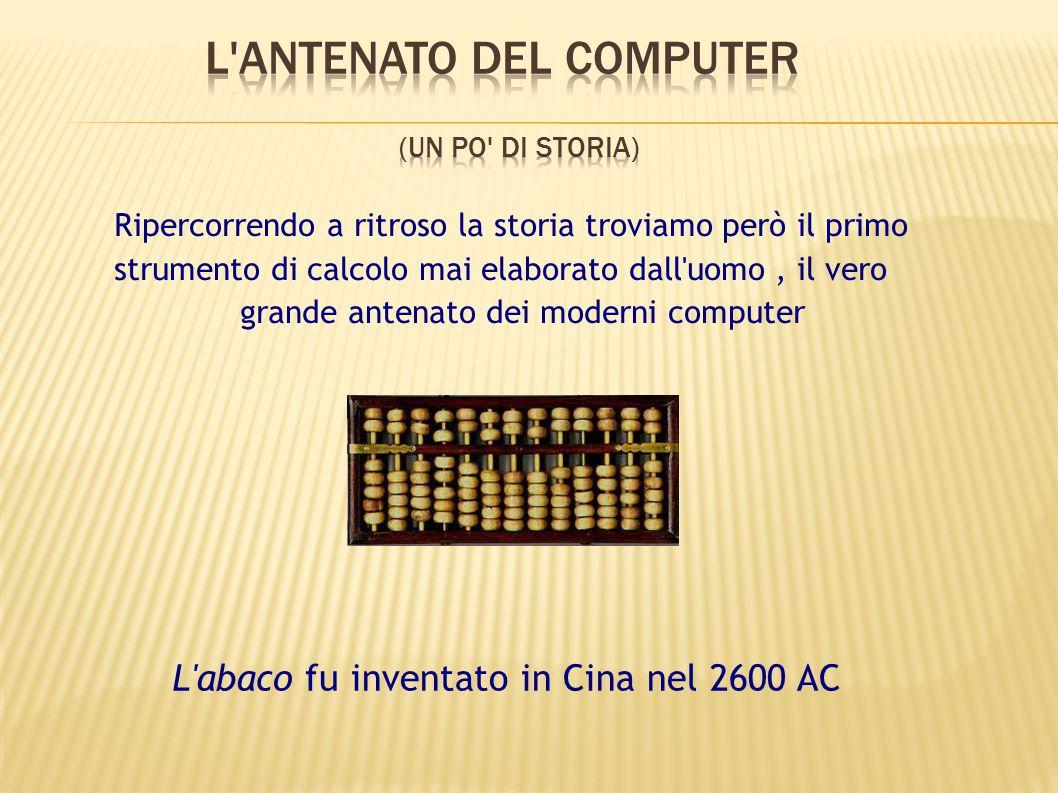 L antenato del computer (un po di storia)