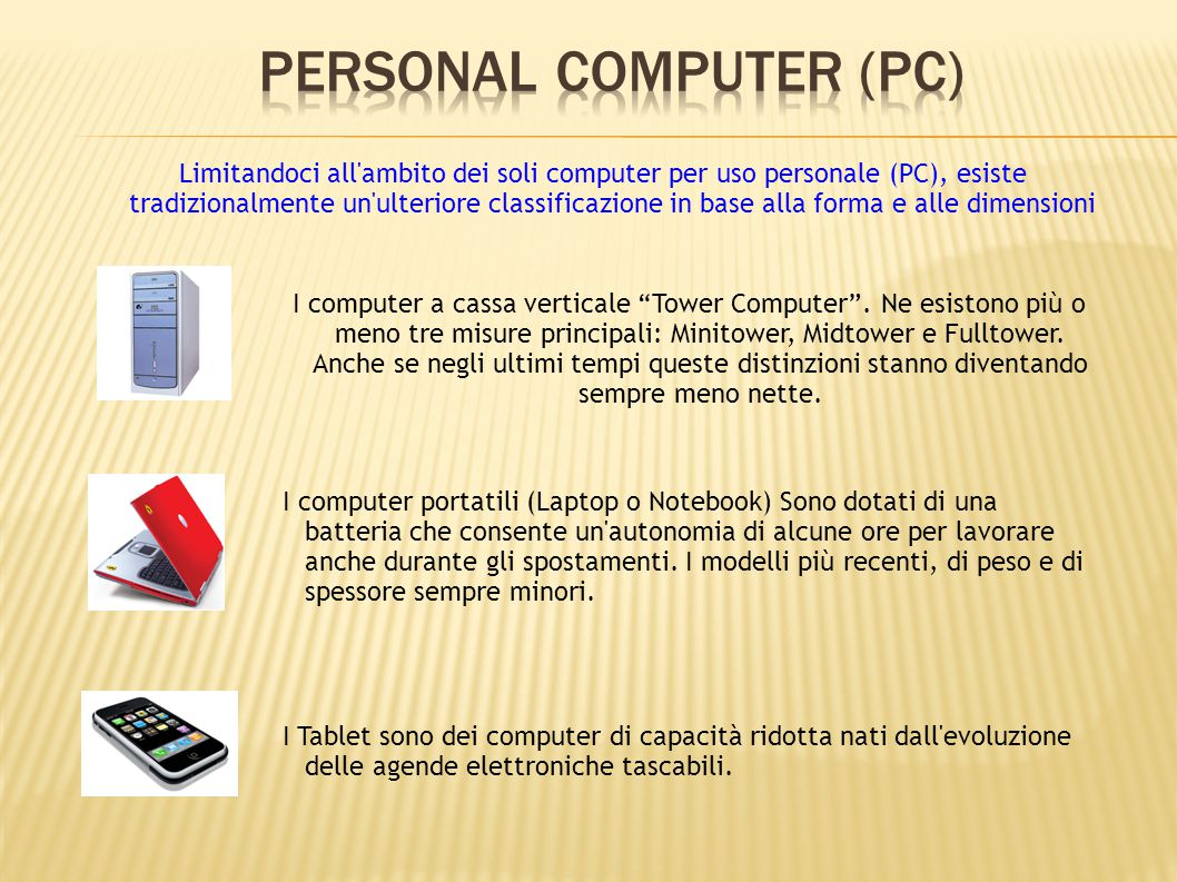 Personal Computer (PC)‏