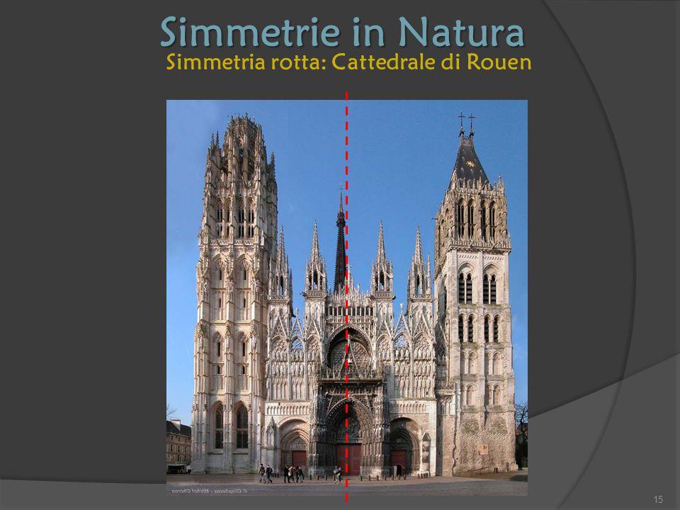 Simmetria rotta: Cattedrale di Rouen