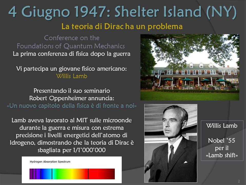 4 Giugno 1947: Shelter Island (NY)