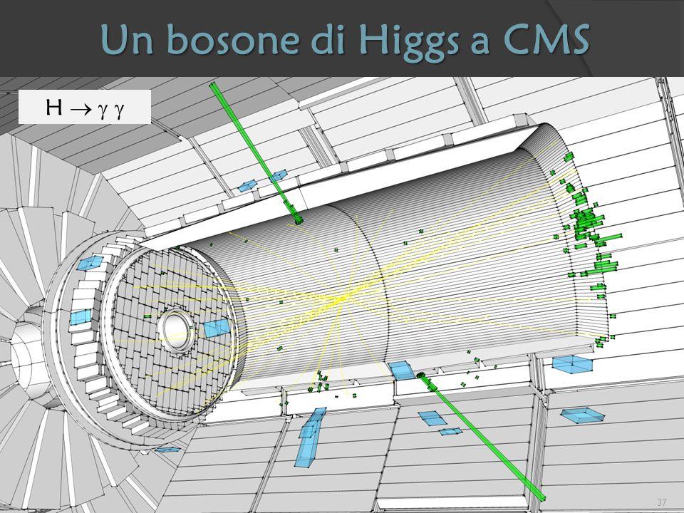 Un bosone di Higgs a CMS H   