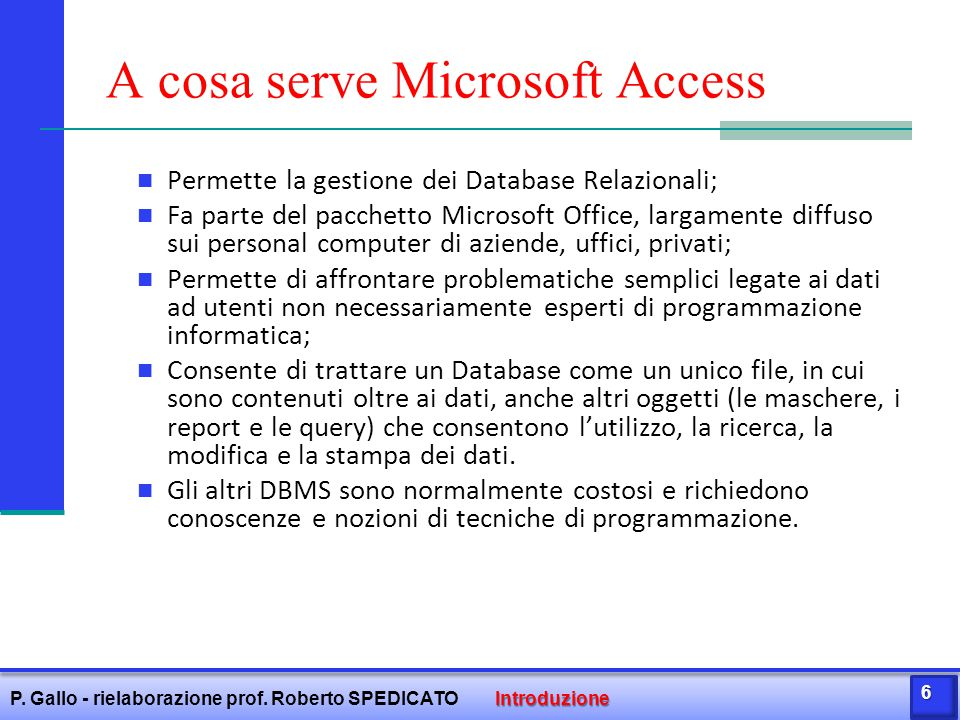 A cosa serve Microsoft Access