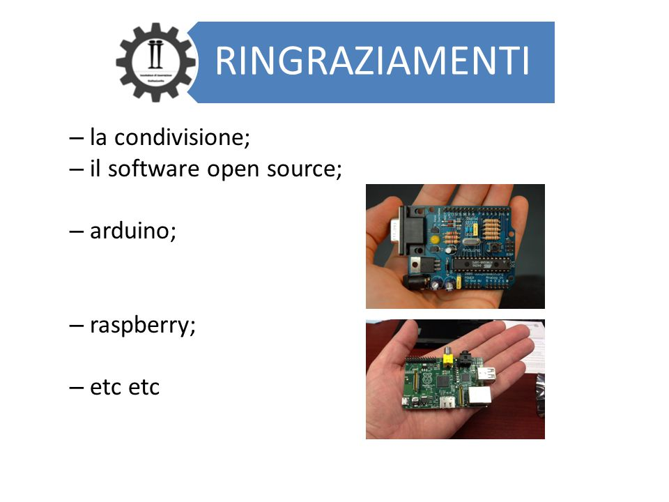 il software open source; arduino;