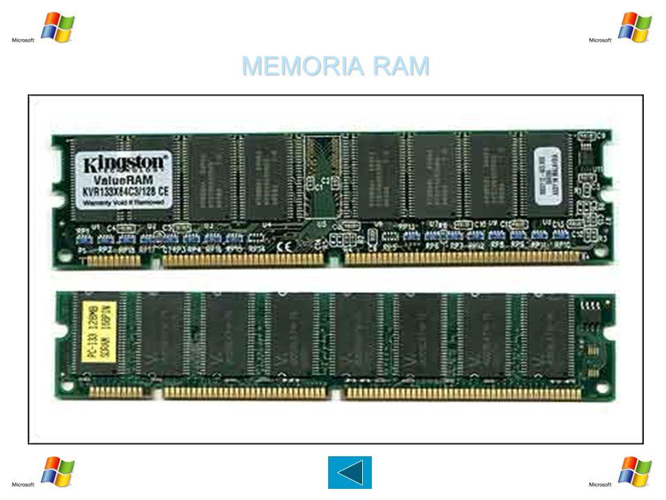 MEMORIA RAM Prodotta per la prima volta nel 1970 dalla Intel, la RAM è la memoria del computer chiamata anche memoria centrale,principale o fisica.