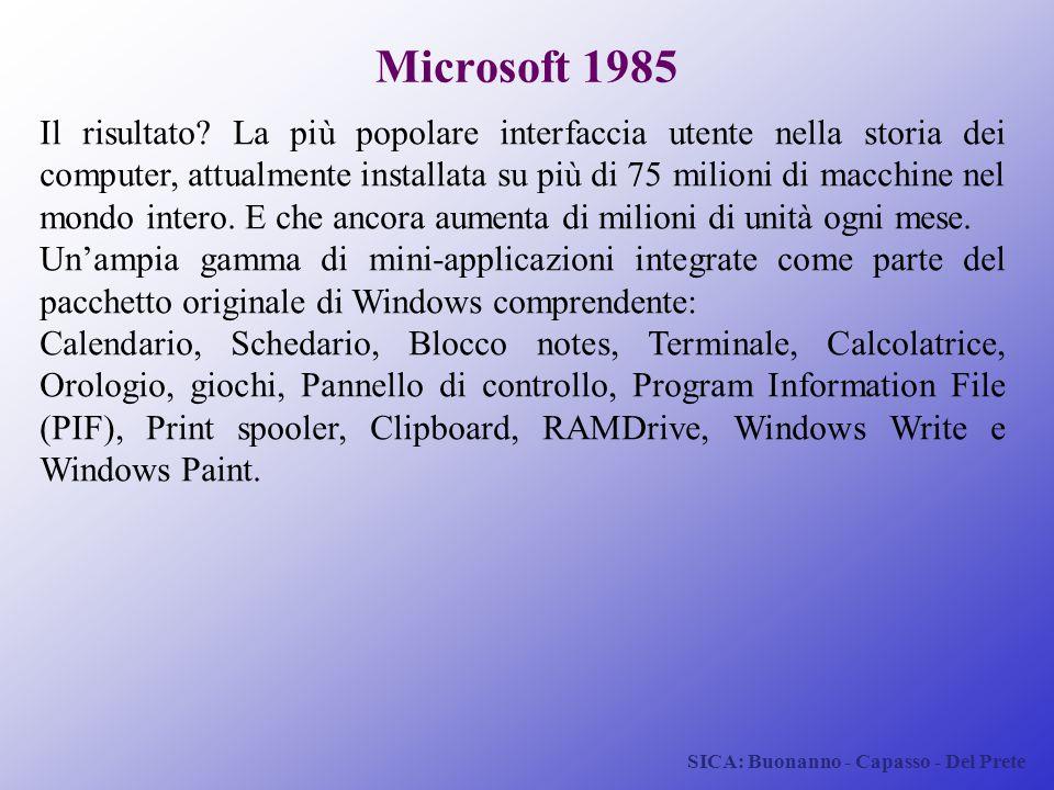 Microsoft 1985