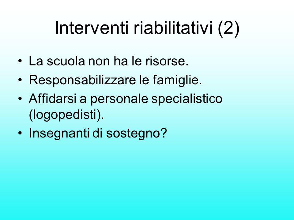 Interventi riabilitativi (2)