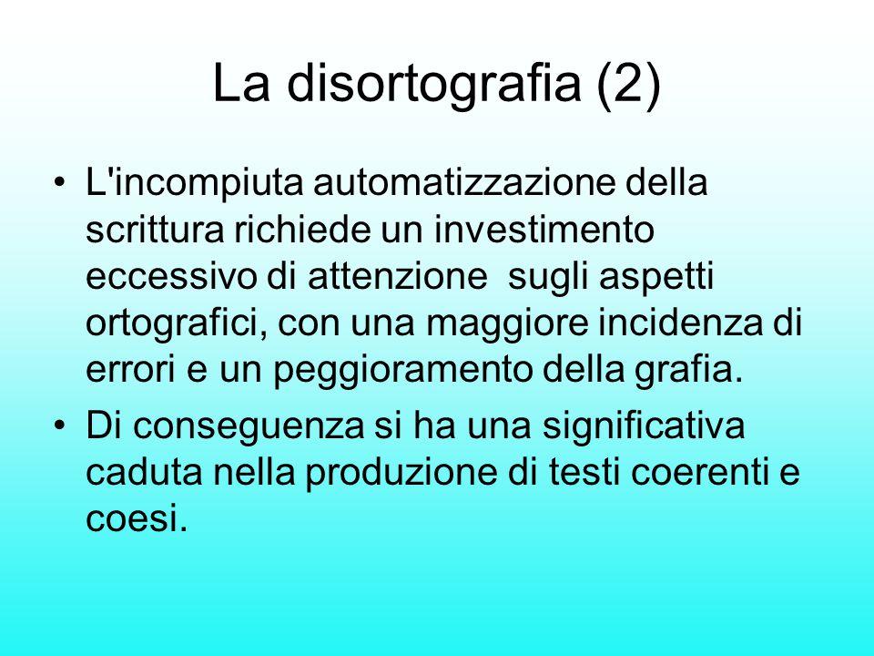La disortografia (2)