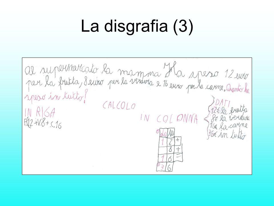 La disgrafia (3)