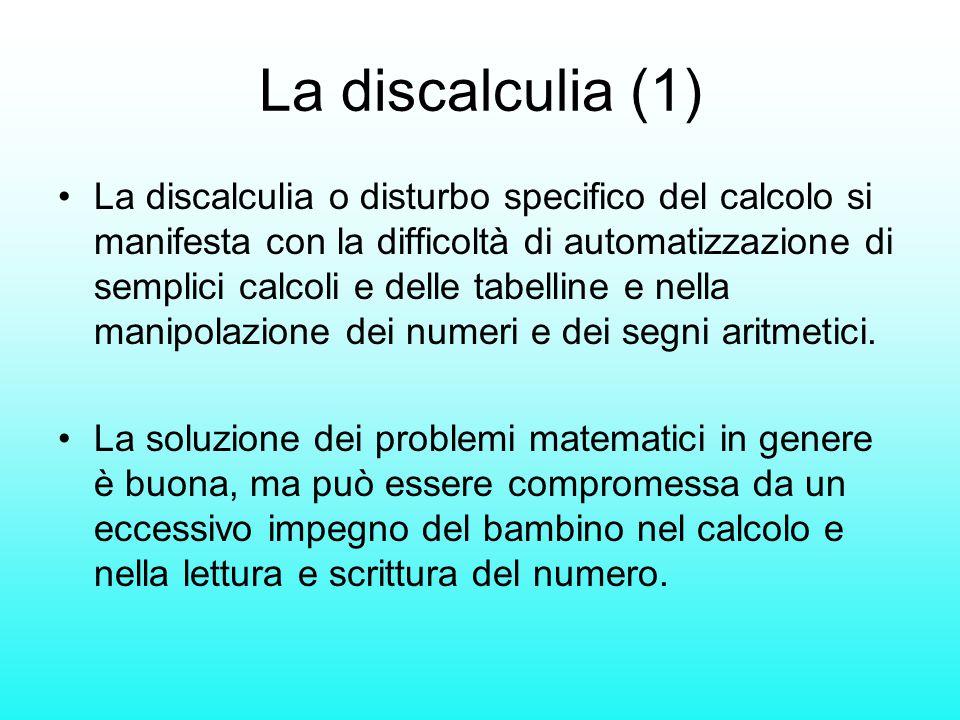 La discalculia (1)