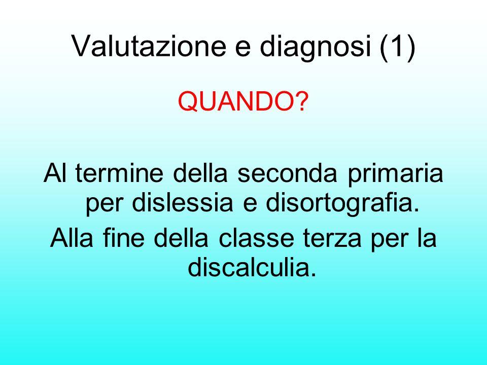 Valutazione e diagnosi (1)