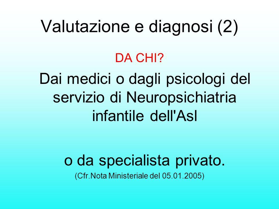 Valutazione e diagnosi (2)