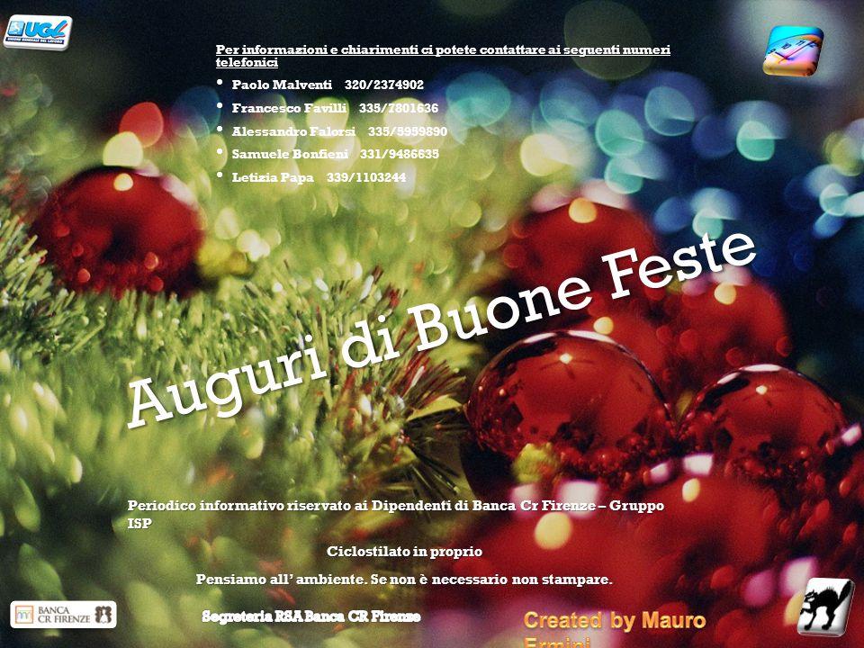 Auguri di Buone Feste Created by Mauro Ermini