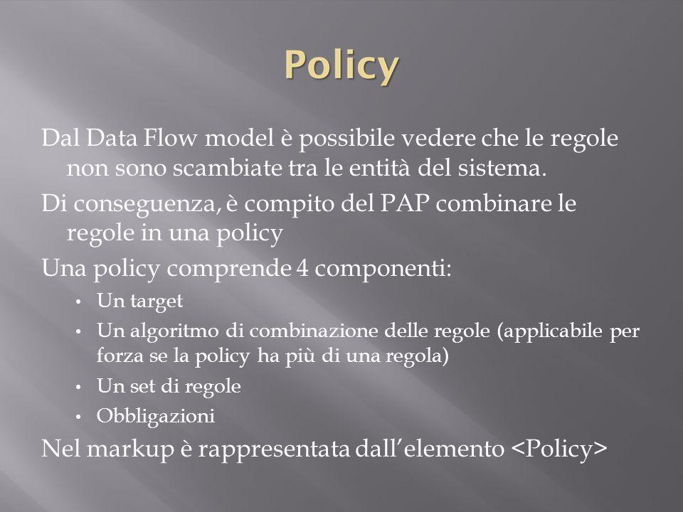 Di conseguenza, è compito del PAP combinare le regole in una policy