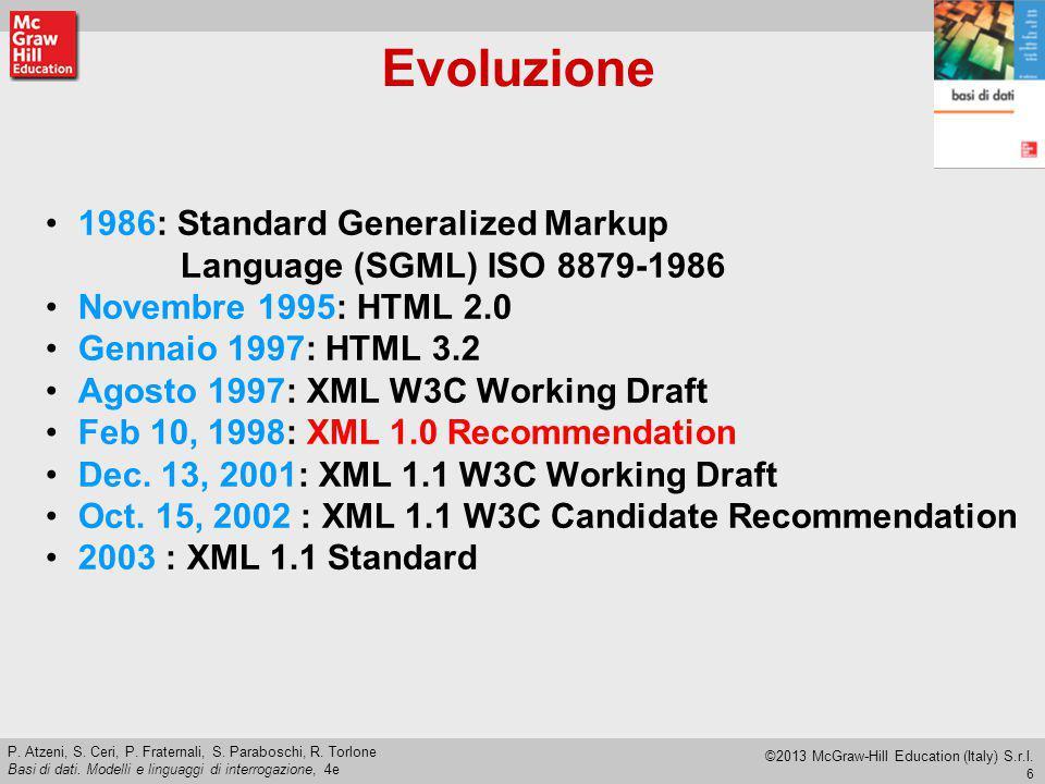 Evoluzione 1986: Standard Generalized Markup